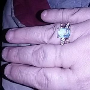 Jewelry - 14k gold filled Aquamarine ring