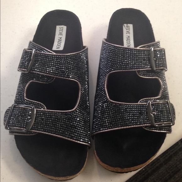 0b5ad82dd87 Steve Madden (Birkenstock Like) Sandals. M 55d9ad3af0137d260c019045