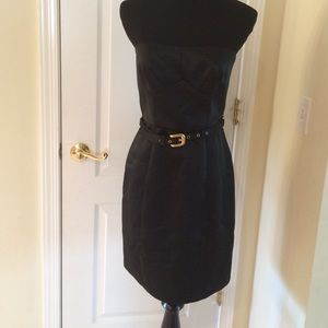 ABS black sexy dress