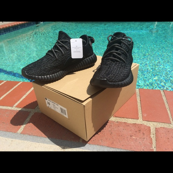 Adidas Shoes - Yeezy boost 350 pirate black size 10