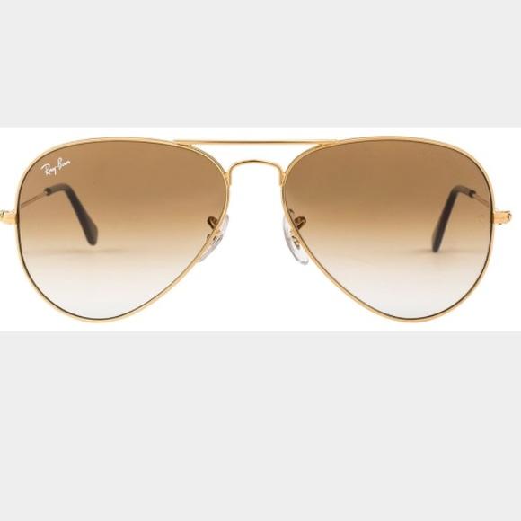 b494d1d584c Ray-Ban Aviator Gold Frame Brown Lens size 55. M 55d9f5aa77adea24ab019d48