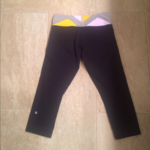 31% off lululemon athletica Pants - Lululemon cropped yoga ...