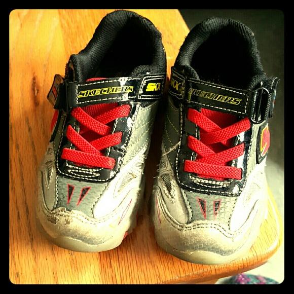 58b09dc6e31e Sketcher BOY shoes KIDS Light Up Shoes. M 55da019a7f0a05230801a692