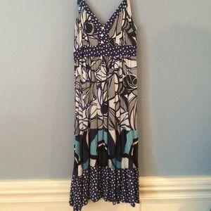 Katie K Dresses & Skirts - Blue Print Dress