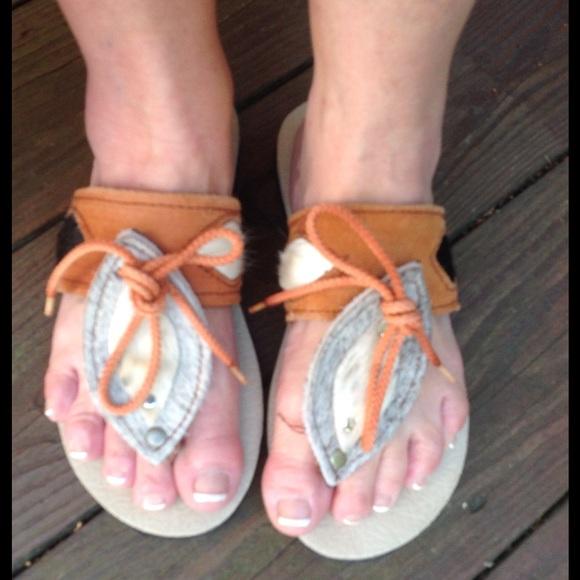 787cc42ab870 ️Ultra boho chic all natural organic sandals. M 55da0cec291a35404601ab82