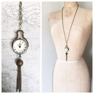s a l e  > steampunk watch necklace