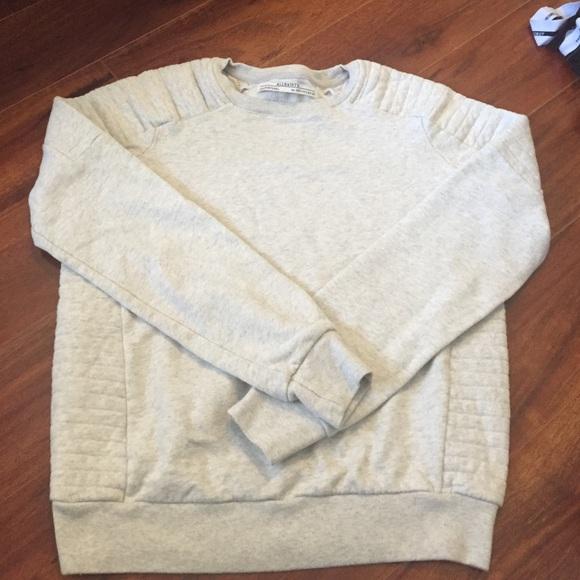 All Saints Sweaters Allsaints Ridley Sweatshirt Poshmark