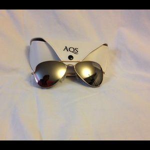 AQS Accessories - AQS Mirrored Aviators