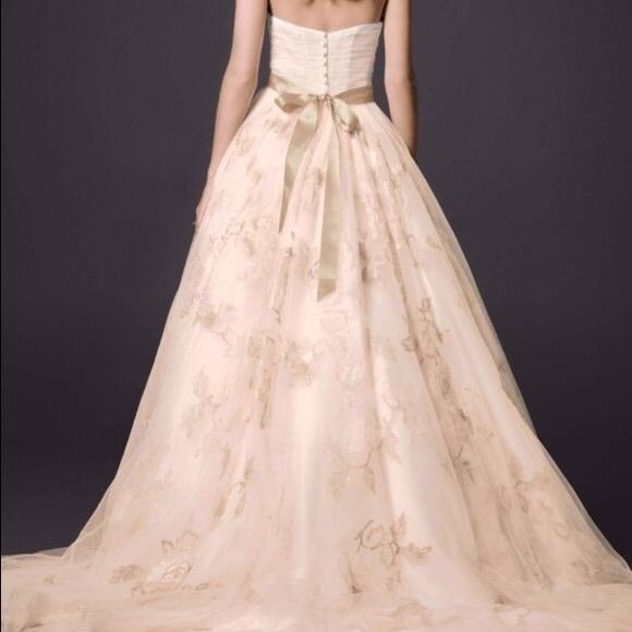 44 off oleg cassini dresses skirts oleg cassini blush for Wedding dresses champaign il