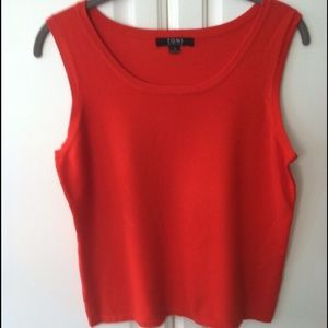 Toni Morgan Sleeveless Sweater