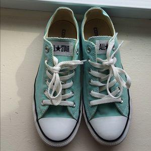 1397cbc77e78 Converse Shoes - Light blue