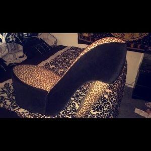 Other   Cheetah High Heel Chair