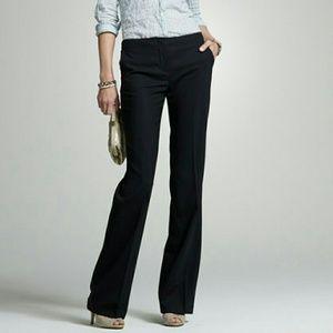JCREW black City Fit cotton trouser