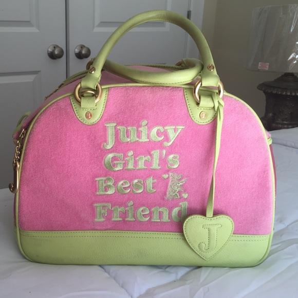0b7bcc1a246 Juicy couture Pet Carrier