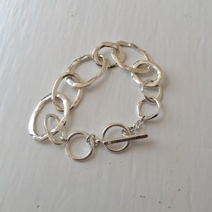 🎈Organic Link Toggle Bracelet