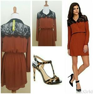 🎉HP 10/21🎉NWT🎀GB Isabelle Cinnamon Dress