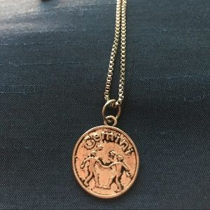 Gemini  zodiac Necklace