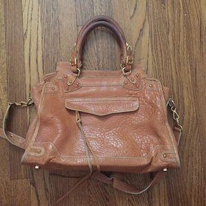 Rebecca Minkoff Crossbody Desire Satchel Bag Tan