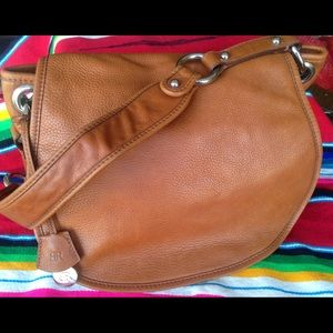 Banana Republic  brown leather bag