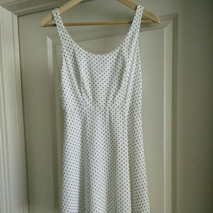 Zara printed woven dress