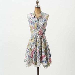 Anthropologie Petite Pepela Shirtdress