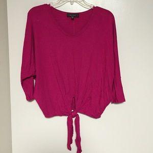 Karen Kane pink top