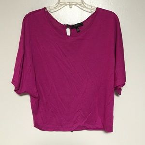 Jessica Simpson pink top with CUTE back