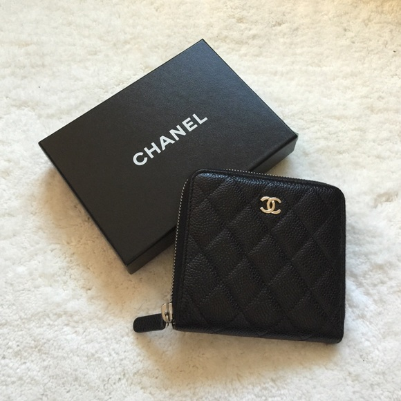 9b17b76f30b569 CHANEL Bags | Small Zip Wallet Petit Portefeuille | Poshmark