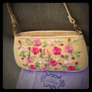 lulu guinness Handbags - Authentic Lulu Guinness Straw Purse Brand New