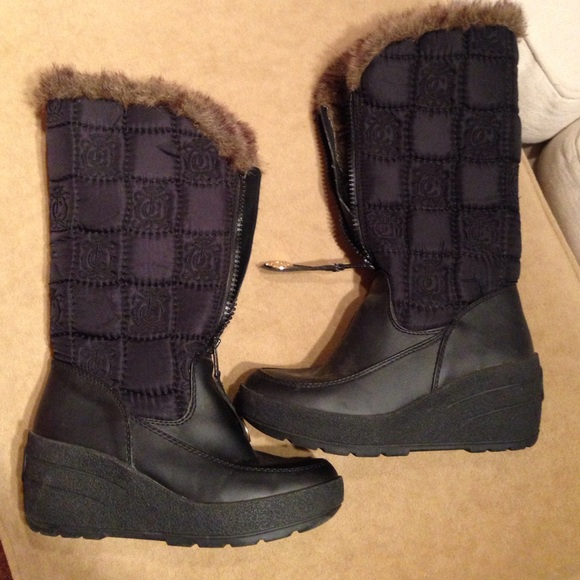 Juicy Couture - JC wedge snow boots from Heather's closet