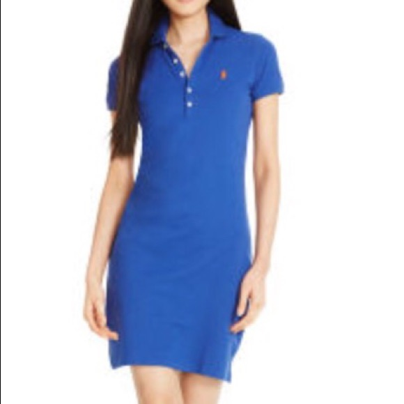c4036ec170555 Royal blue Ralph Lauren polo dress! M 55da733f620ff7483701dd60