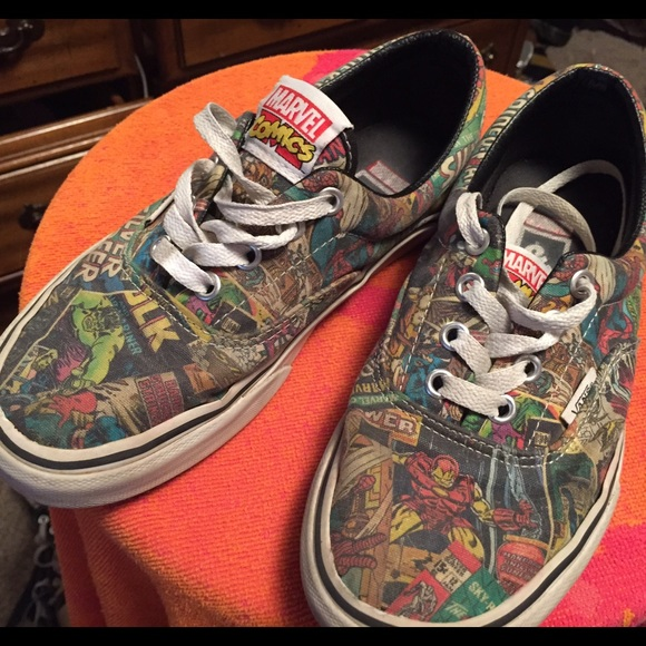 vans marvel comics
