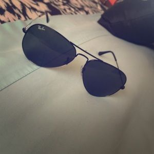 ray ban aviator xl  black ray ban aviators