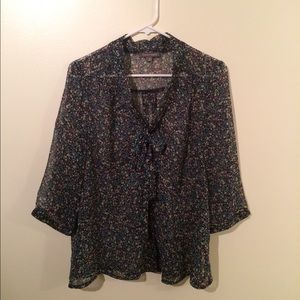 Tinley Road floral blouse