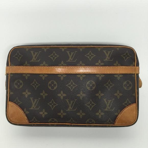 louis vuitton clutch bag. louis vuitton compiegne 28 monogram clutch bag d