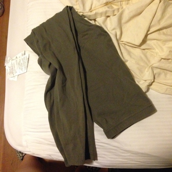 american apparel american apparel cotton leggings from