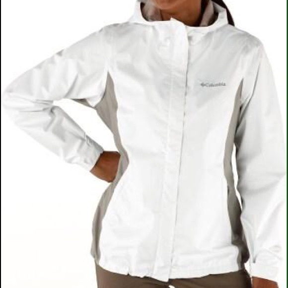 85% off Columbia Jackets & Blazers - ⚡️SALE⚡️White Columbia ...