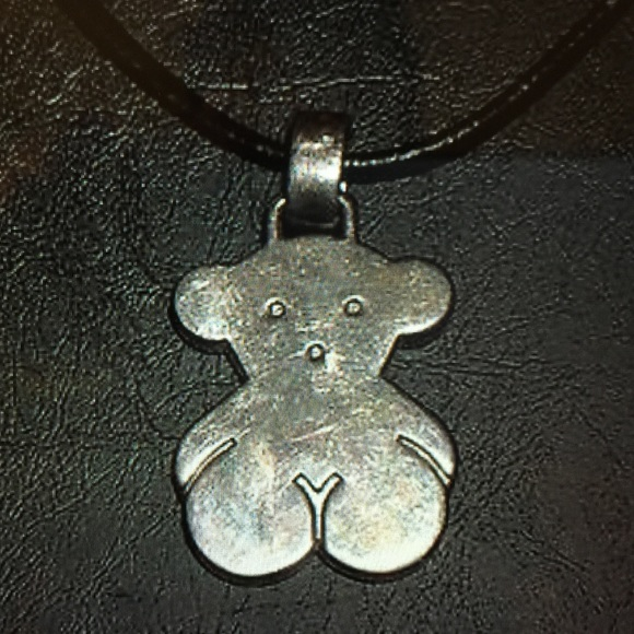 Tous jewelry sterling silver bear necklace pendant poshmark sterling silver tous bear necklace pendant aloadofball Images