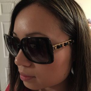 e0aee624c2 CHANEL Accessories - Chanel chain sunglasses