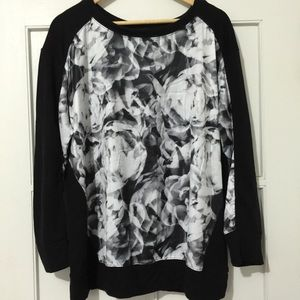 DKNY abstract design top