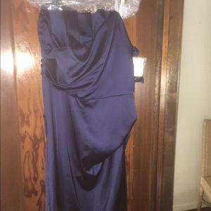 David's Bridal Dresses - Navy Blue cocktail dress from David's Bridal