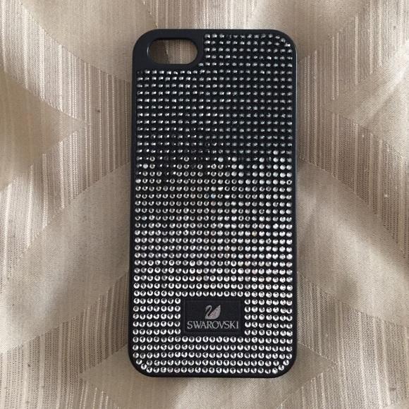 Swarovski Black Iphone 5 case. M 55db1daa44adba25e2020ae9 11f852ce70