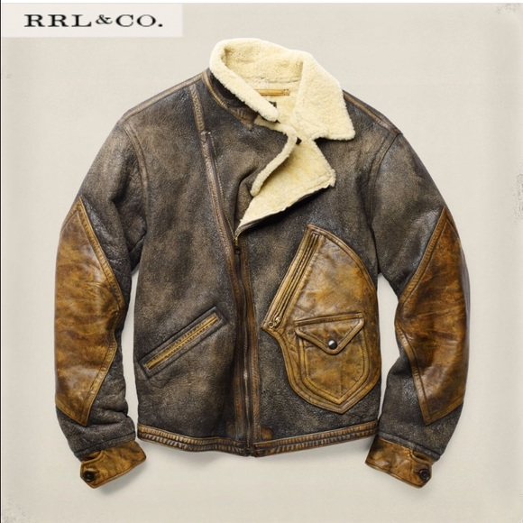a7b6d0f71d RRL   CO Shearling Jacket. Men s M