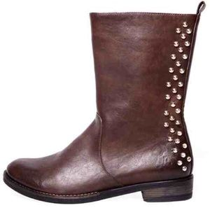 Cape Robbin Studded Boot Brown