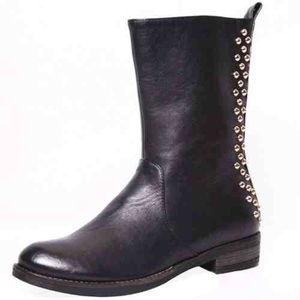 Cape Robbin Teresa Studded Boot Black