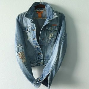 Distress Jean Jacket