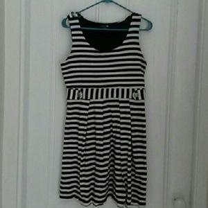 Nautical Jersey Dress | Striped