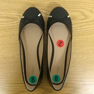 Wanted Shoes - Cute Black Flats