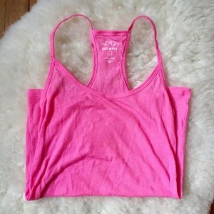 Old Navy Tops - Old Navy Neon Pink Rib Tank