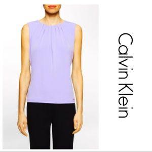 Calvin Klein Lilac Sleeveless Top NWT